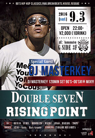 DOUBLE SEVEN×RISING POINT