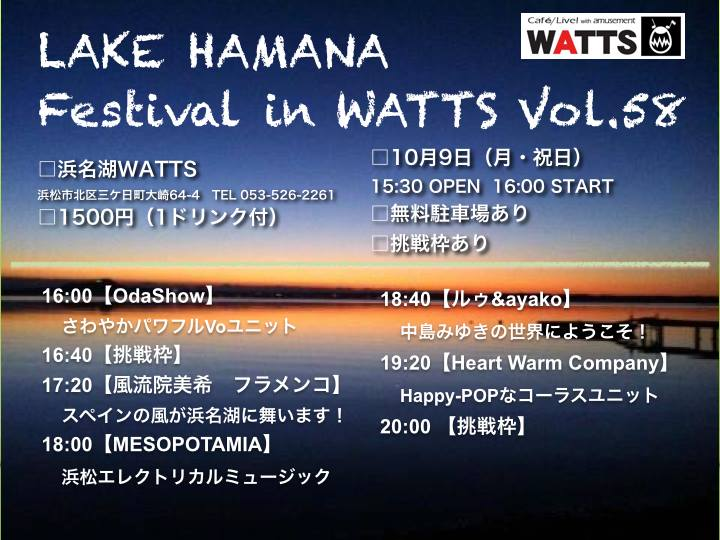 Lake Hamana Festival in WATTS Vol.58