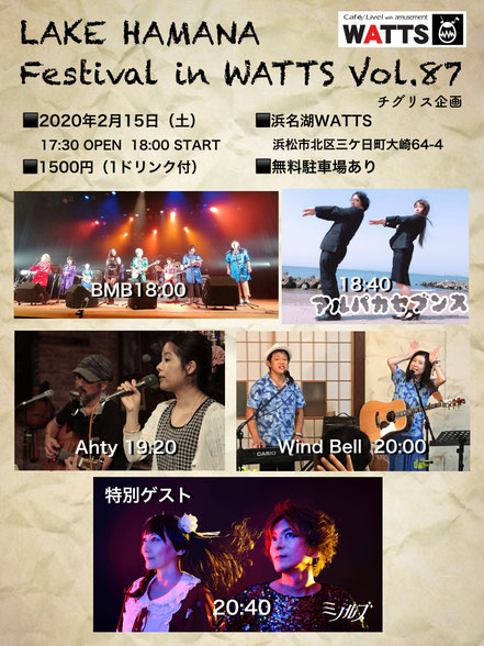 Lake Hamana Festival in WATTS Vol.87