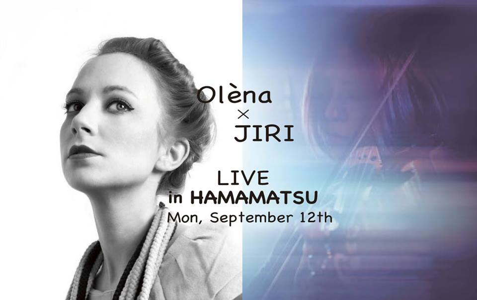 Olèna Japan tour × JIRI in Hamamatsu!! 開催のお知らせ